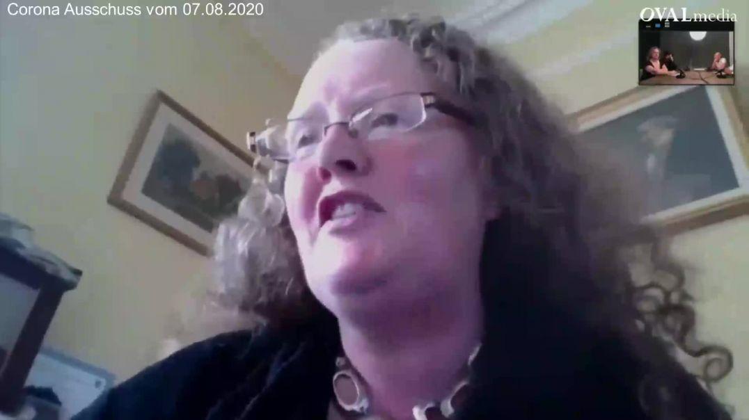 Prof. Dr. Dolores Cahill: Lockdown unnötig / Lockdown unnecessary (Corona Ausschuss)