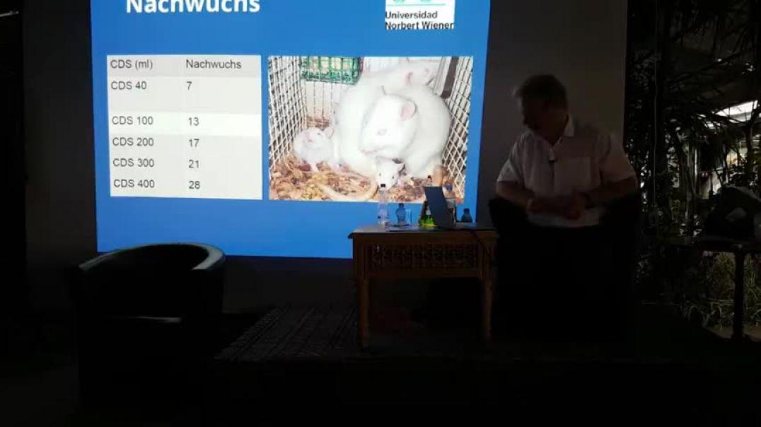 Vortrag Andreas Kalcker über seine Erfahrungen mit Covid19 und die Erfolge mit CDL