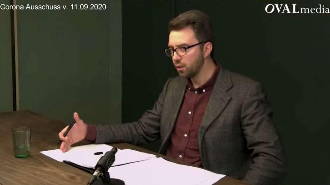 David Siber (Grüne): Kritische Diskussion bzgl. Corona nicht gewünscht (Corona Ausschuss)