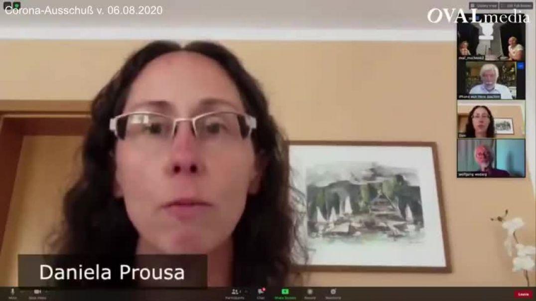 Maskenpflicht: bedrückende Studie von Daniela Prousa (Corona Ausschuß)