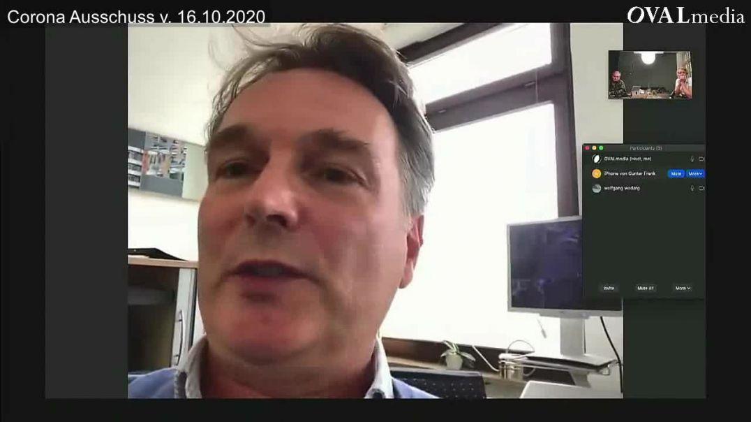 """Dr. Frank: """"Karl Lauterbach agiert unwissenschaftlich"""" (Corona Ausschuss)"""