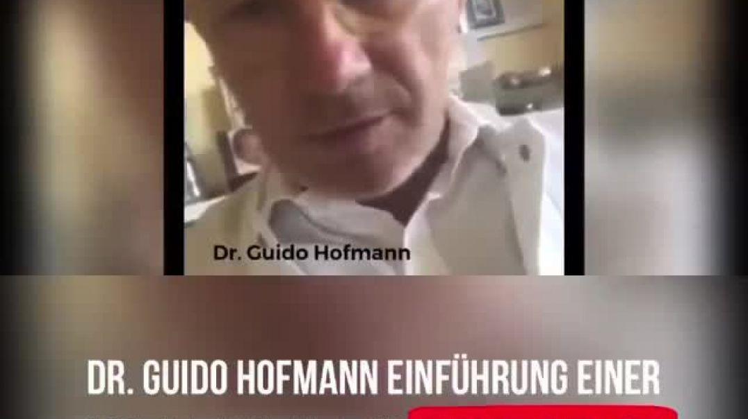 Dr. Guido Hofmann - Es hat absolut nichts mit einem Virus zutun - Weltweite Diktatur