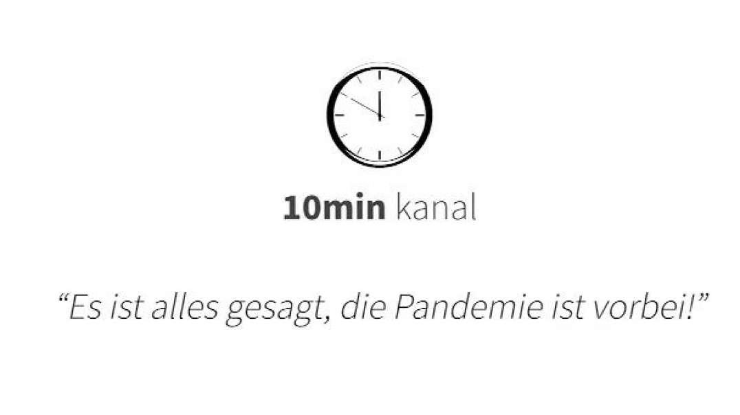 """10min """"Es ist alles gesagt, die Pandemie ist vorbei!"""" Hört auf mit dem Quatsch"""