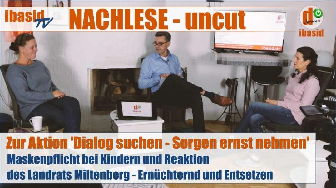 NACHLESE: Aktion 'Dialog suchen - Sorgen ernst nehmen' am Landratsamt Miltenberg, 26.10.20