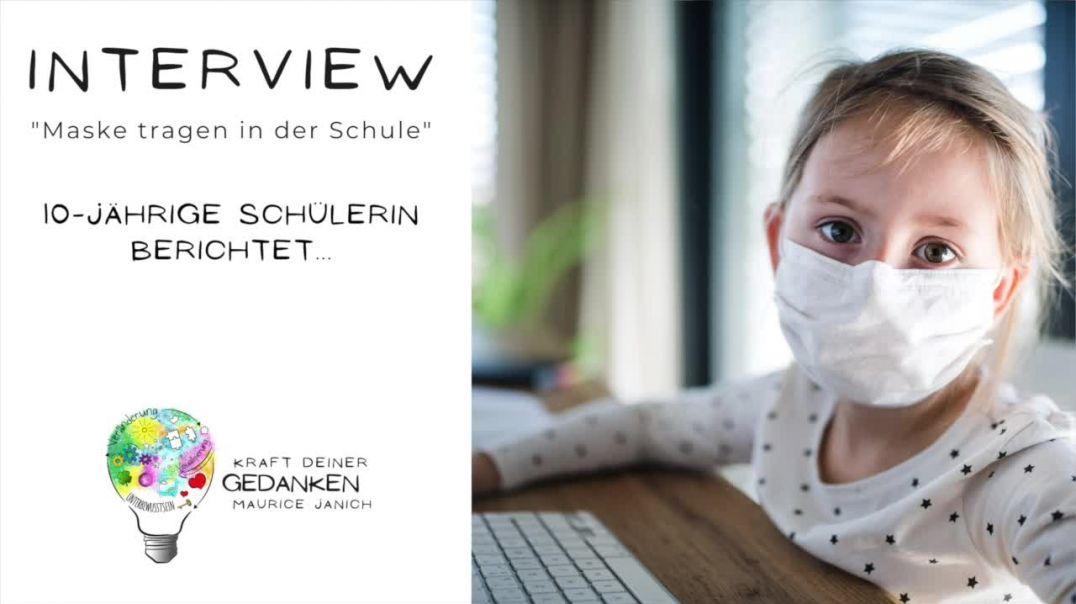 """Interview mit der 10-jährigen Schülerin Svea """"Maske tragen in der Schule"""""""