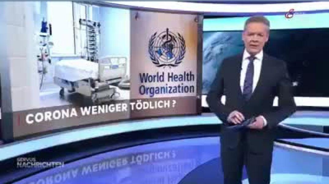 Corona: Sterblichkeit niedriger als vermutet - WHO