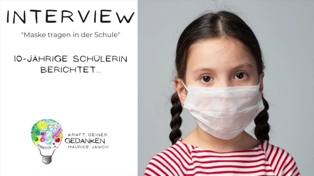 """Interview mit der 10-jährigen Schülerin Fleur """"Maske tragen in der Schule"""""""