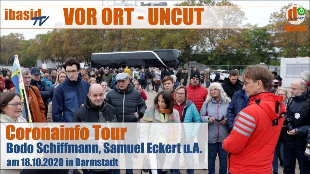 VOR ORT - UNCUT: Die Coronainfo Tour am 18.10.2020 in Darmstadt