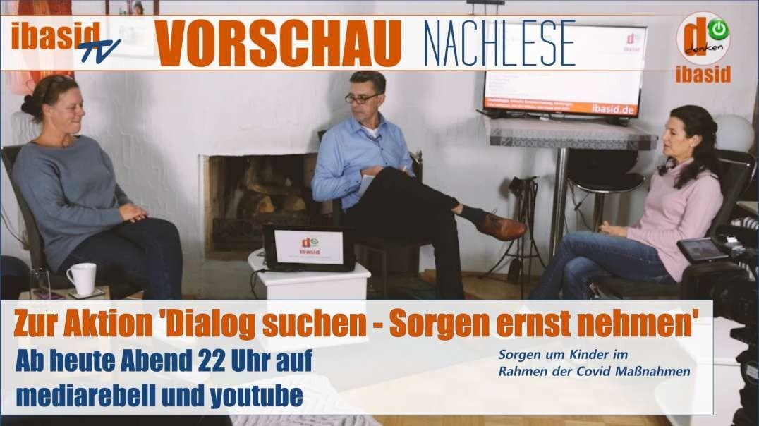 VORSCHAU ibasid NACHLESE zur Aktion am Landratsamt 'Dialog suchen - Sorgen ernst nehmen'