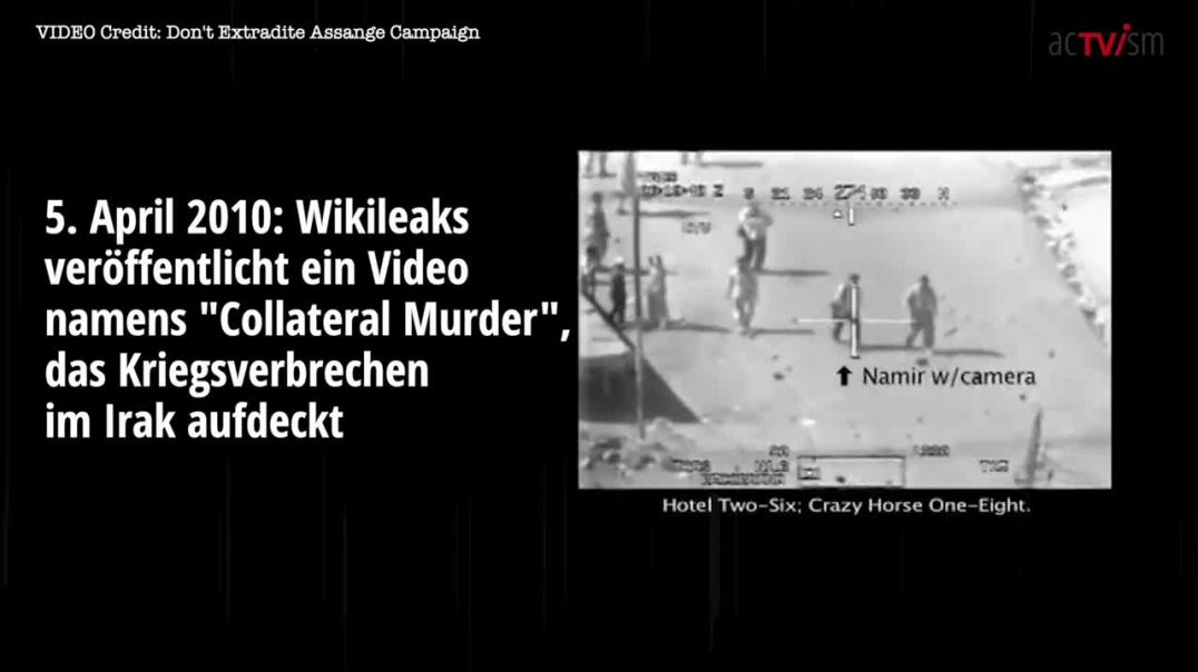 "acTVism Munich: ""Collateral Murder"""