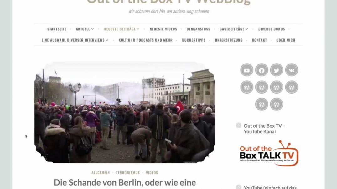 DIE SCHANDE VON BERLIN! Ein Kommentar von Manuel C Mittas