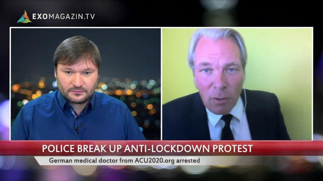 Heiko Schöning, M.D. arrested unlawful at Speakers Corner London 26.09.2020