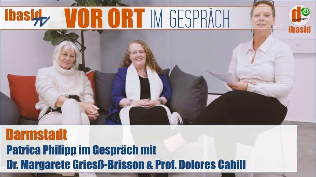 VOR ORT Im Gespräch mit Dr. Griesß-Brisson und Prof. Cahill zur Covid-19 Krise
