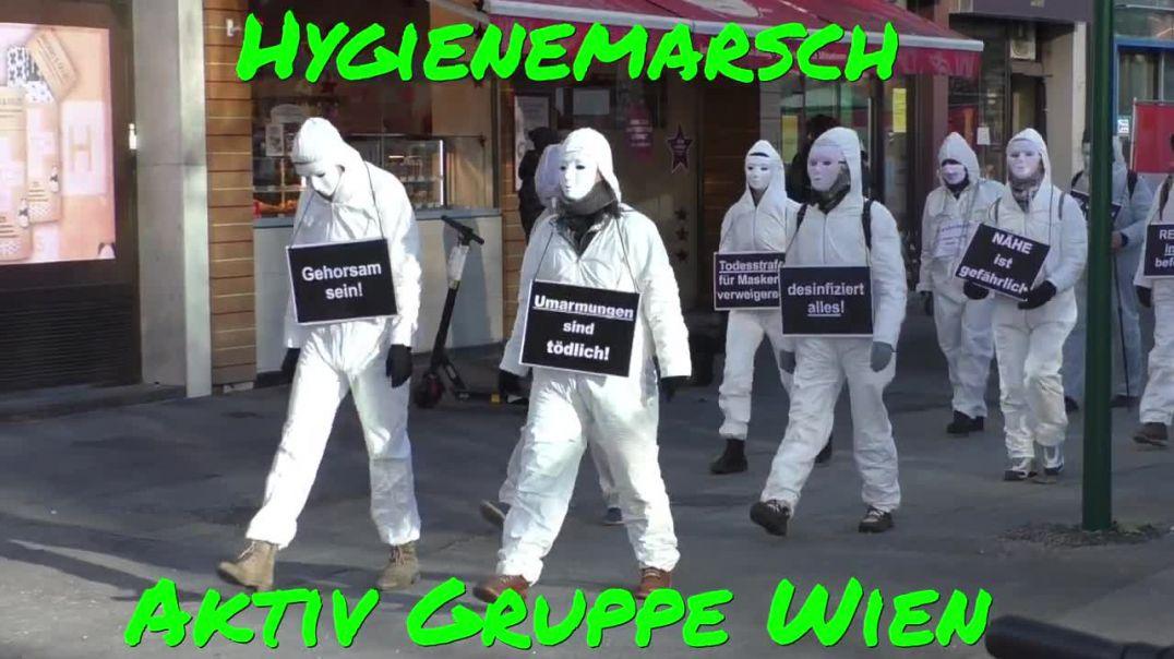 AKTIV GRUPPE WIEN: Hygienemarsch am 29.11.2020