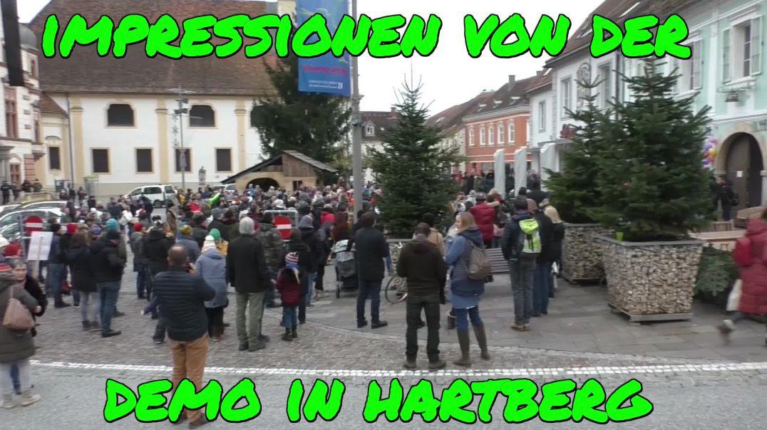 IMPRESSIONEN - DEMO HARTBERG am 28.11.2020