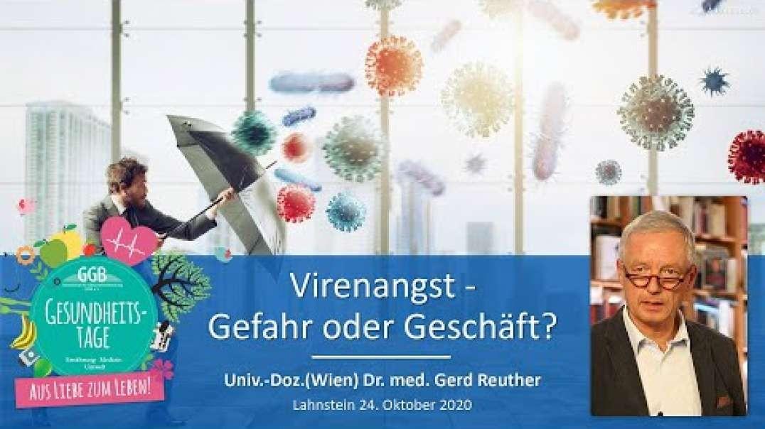 Virenangst - Gefahr oder Geschäft? - Dr. med. Gerd Reuther