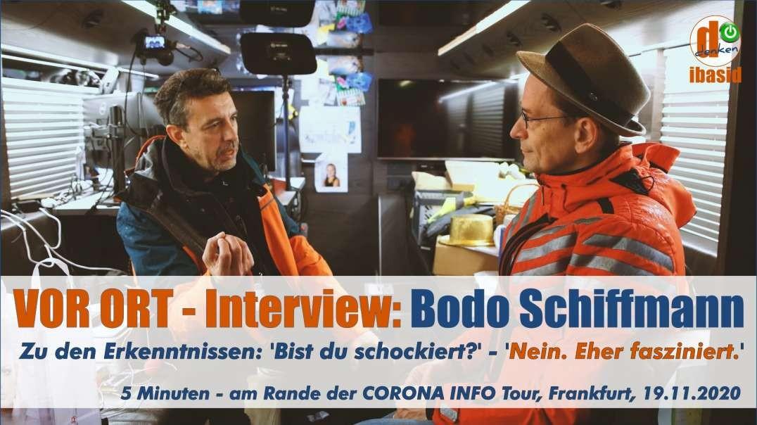 VOR ORT - Interview: Dr. Bodo Schiffmann - Ich bin überzeugt, das Gute wird gewinnen.