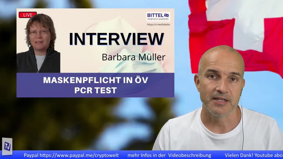 LIVE - Maskenpflicht in ÖV - PCR Test - Interview mit Barbara Müller Kantonsrat