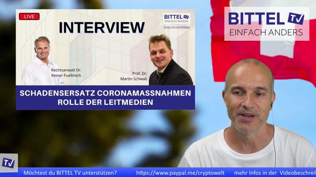LIVE - Interview mit Rechtsanwalt Dr. Reiner Fuellmich - Prof. Dr. Martin Schwab
