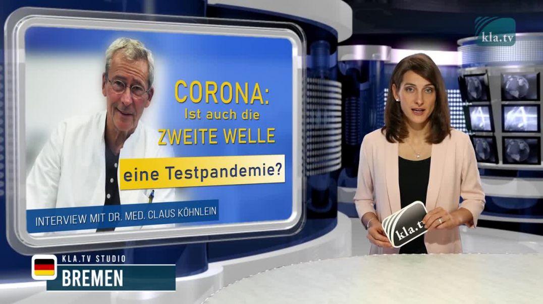 Corona: Ist auch die zweite Welle eine Testpandemie? Interview mit Dr. med. Claus Köhnlein