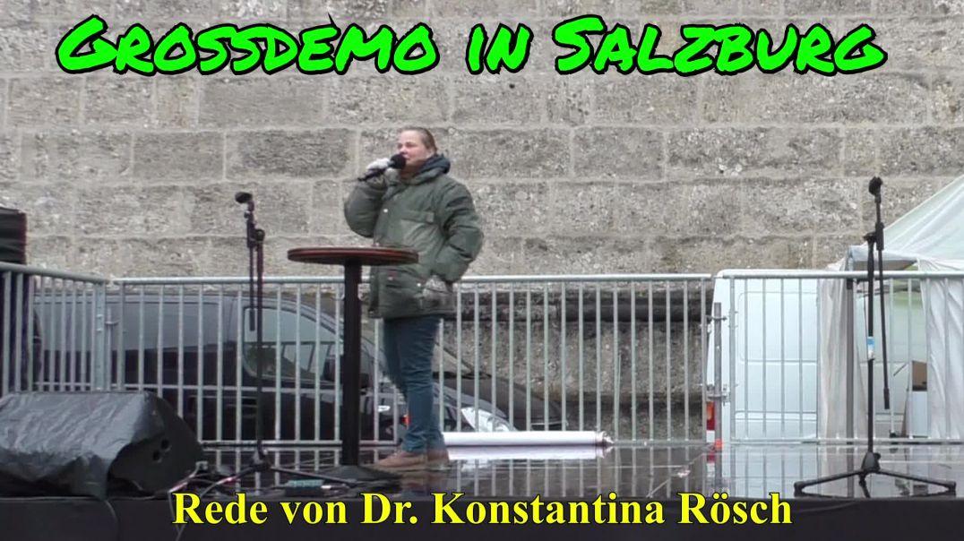 GROSSDEMO SALZBURG am 13.12.2020: Rede von Dr. Konstantina Rösch
