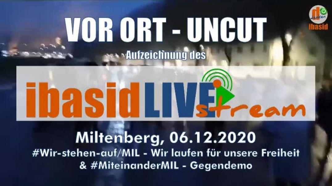 06.12.2020 Miltenberg: MiteinanderMIL vs. Wir stehen auf MIL - Aufzeichnung LIVEstream