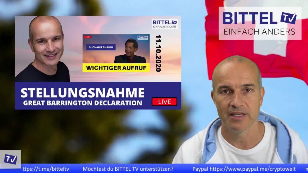 Live - Stellungnahme Great Barrington Declaration