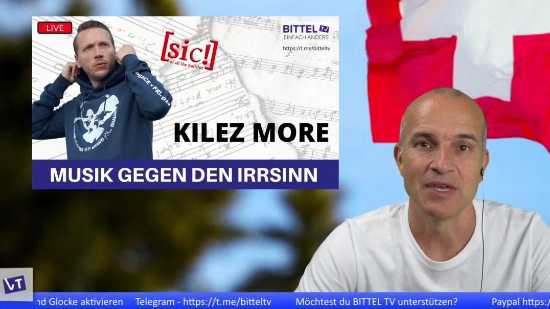 LIVE - Interview mit Kilez More - Musik gegen den Irrsinn