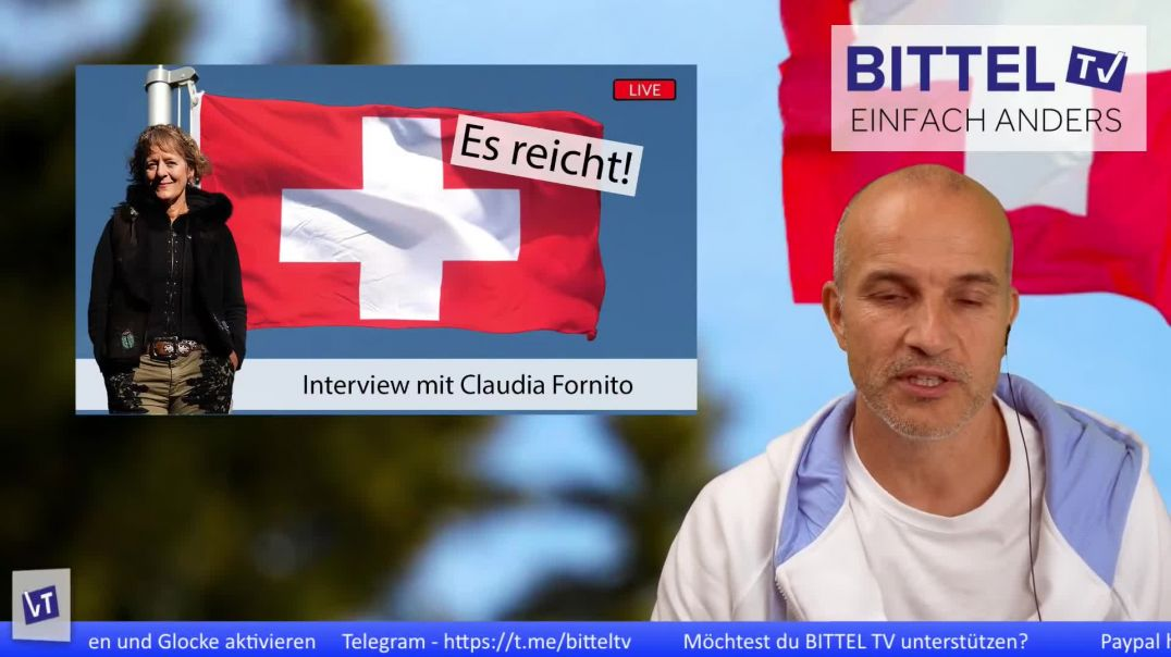 LIVE - Es reicht! - Interview mit Claudia Fornito