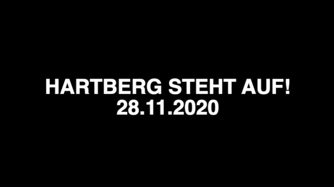 HARTBERG STEHT AUF! + 28.11.2020 inklusive Rede von DR. KONSTANTINA RÖSCH