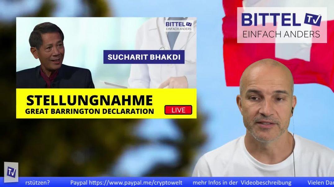 LIVE - Stellungnahme von Sucharit Bhakdi - Great Barrington Declaration