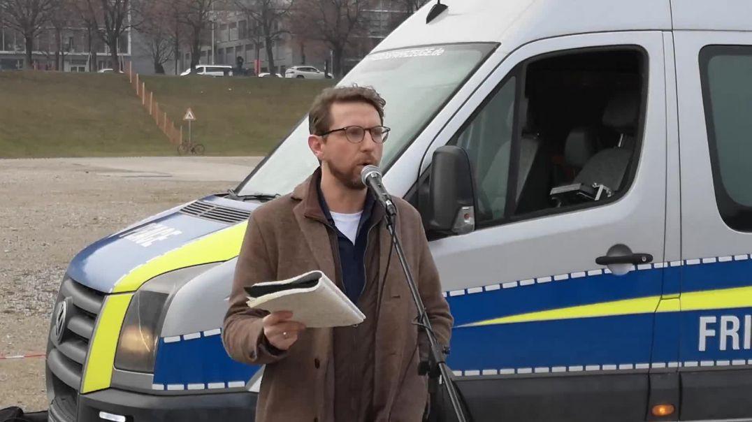 Frauen Bustour München Rede Gunnar Kaiser 19.12.20