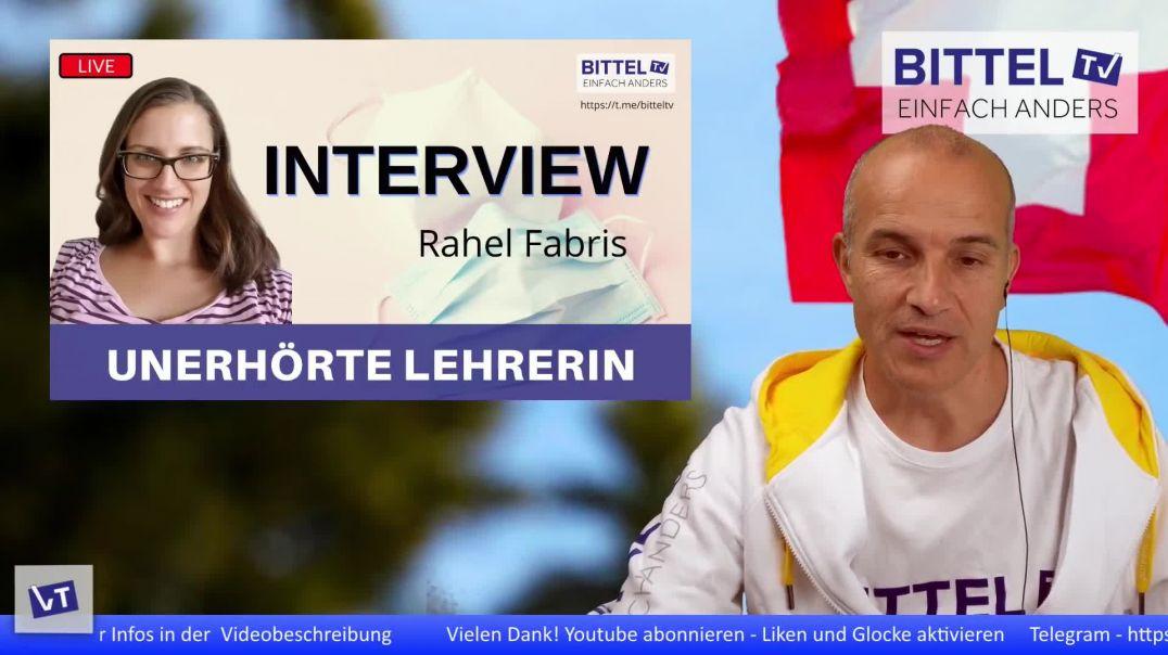 LIVE - Unerhörte Lehrerin - Interview mit Rahel Fabris