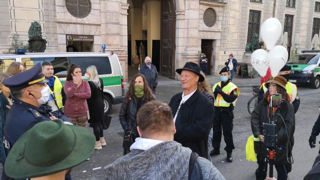 Karl Hilz: Ich werde mich nicht beugen Querdenken Demo München 23.10.20