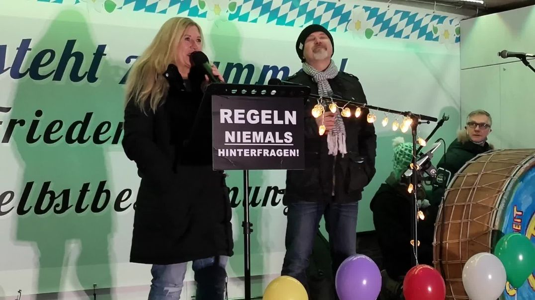 """Querdenken Demo Rosenheim SeeSound Live """"Weihnachtsgefühl"""" 20.12.20"""
