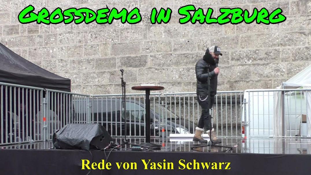 GROSSDEMO SALZBURG am 13.12.2020: Rede von Yasin Schwarz