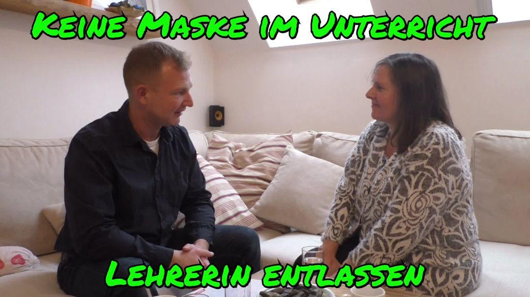 Re-Upload: OHNE MASKE IM UNTERRICHT: LEHRERIN ENTLASSEN