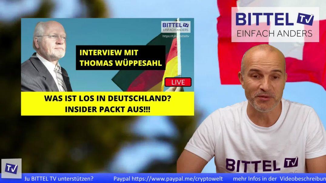 LIVE - Was ist los in Deutschland - Insider packt aus! Interview mit Thomas Wüppesahl
