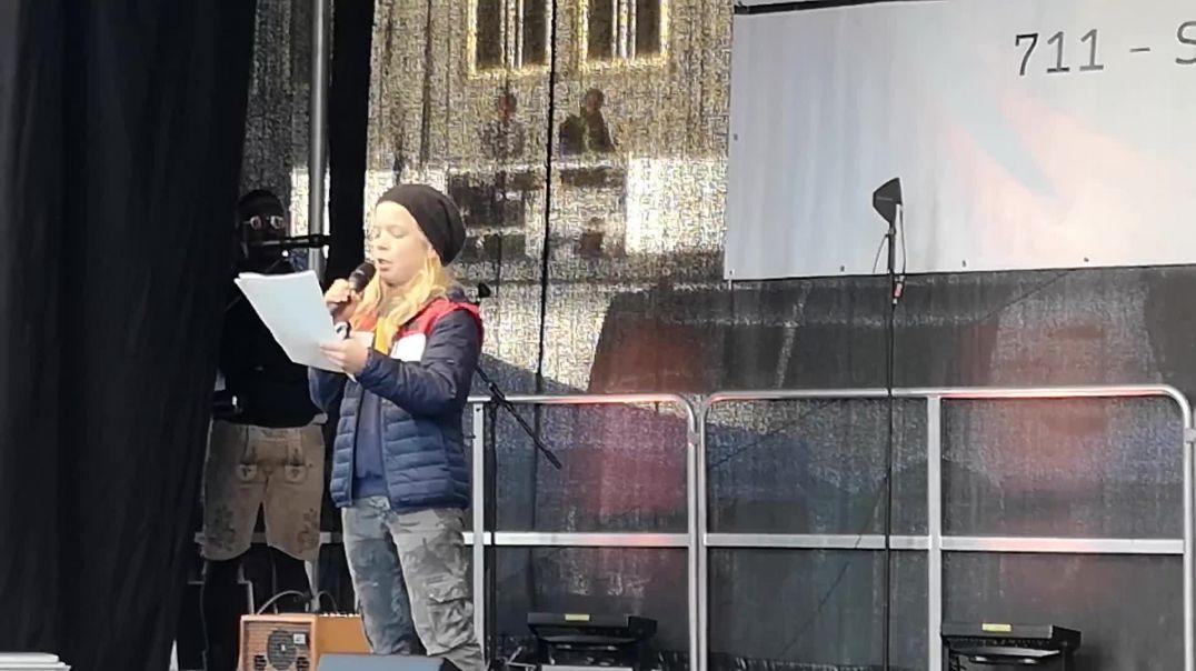 Rede von Paul, 12 Jahre bei Querdenken Demo Leipzig 07.11.20