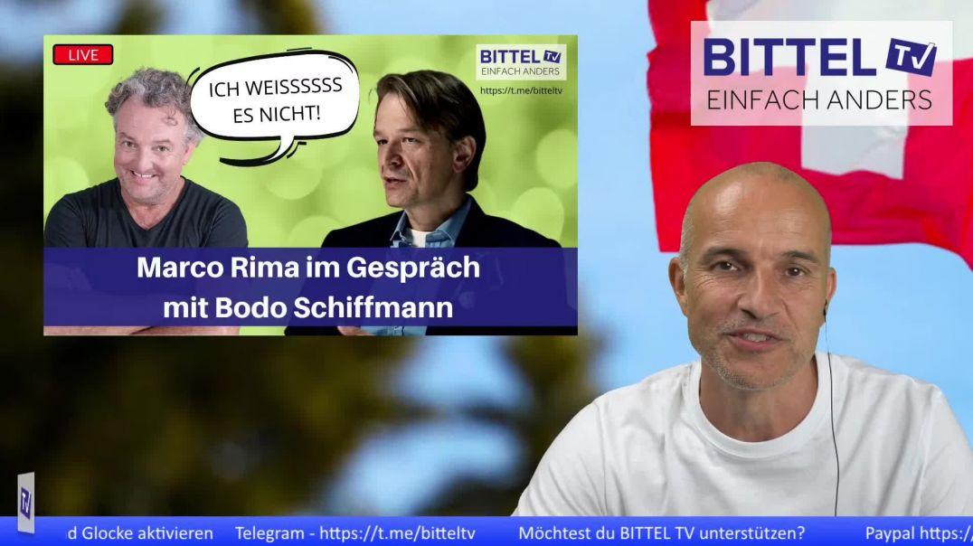 LIVE - Marco Rima im Gespräch mit Bodo Schiffmann - Ich weisssssss es nicht