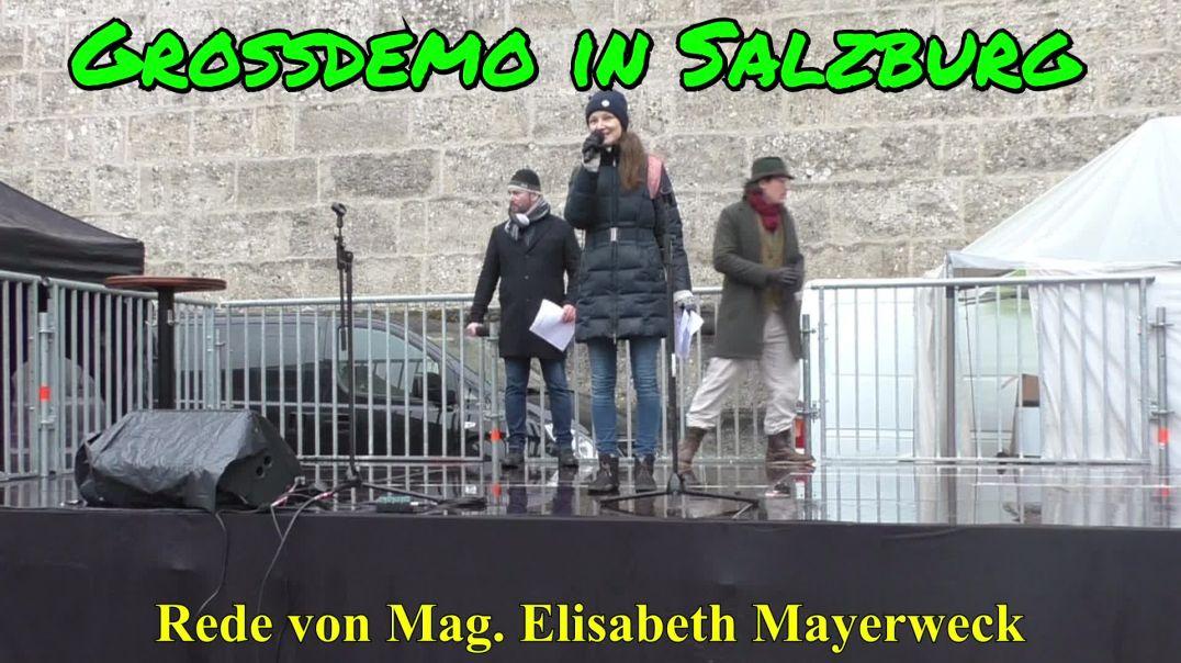 GROSSDEMO SALZBURG am 13.12.2020: Rede von Mag. Elisabeth Mayerweck
