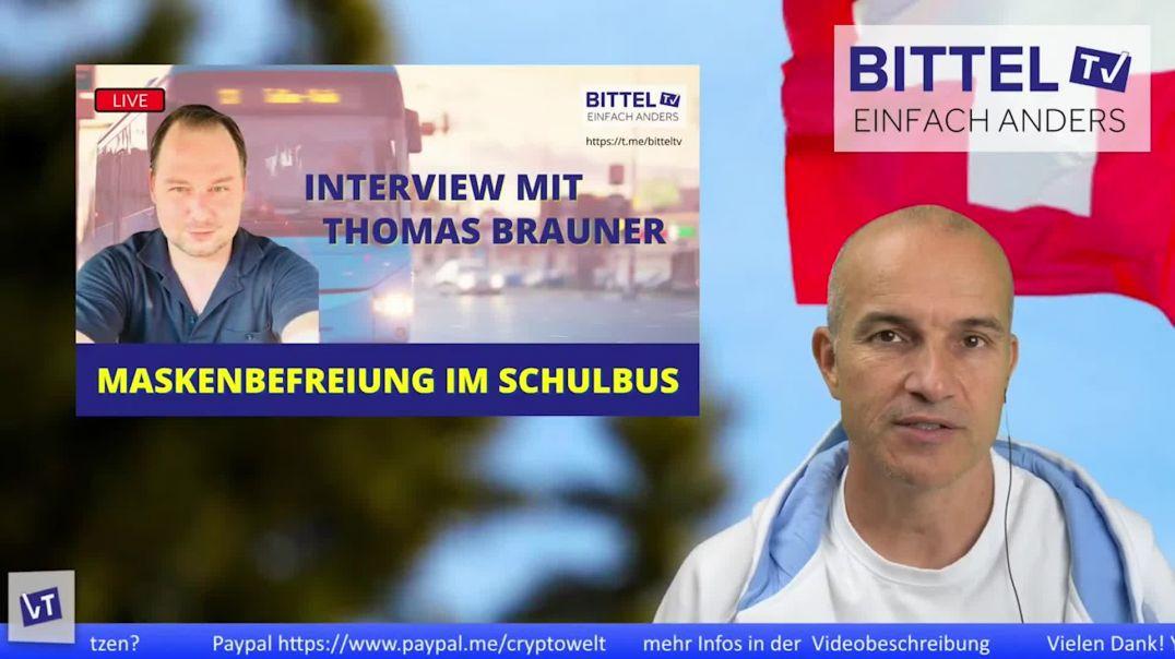 Teaser - Maskenbefreiung im Schulbus - Interview mit Thomas Brauner