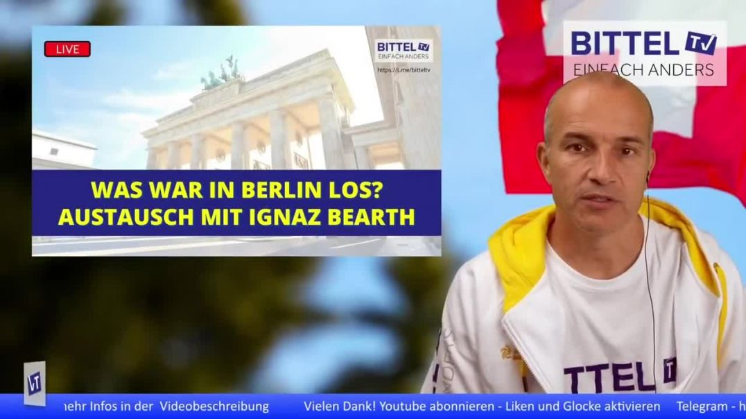 Teaser - Was war in Berlin los - Austausch mit Ignaz Bearth