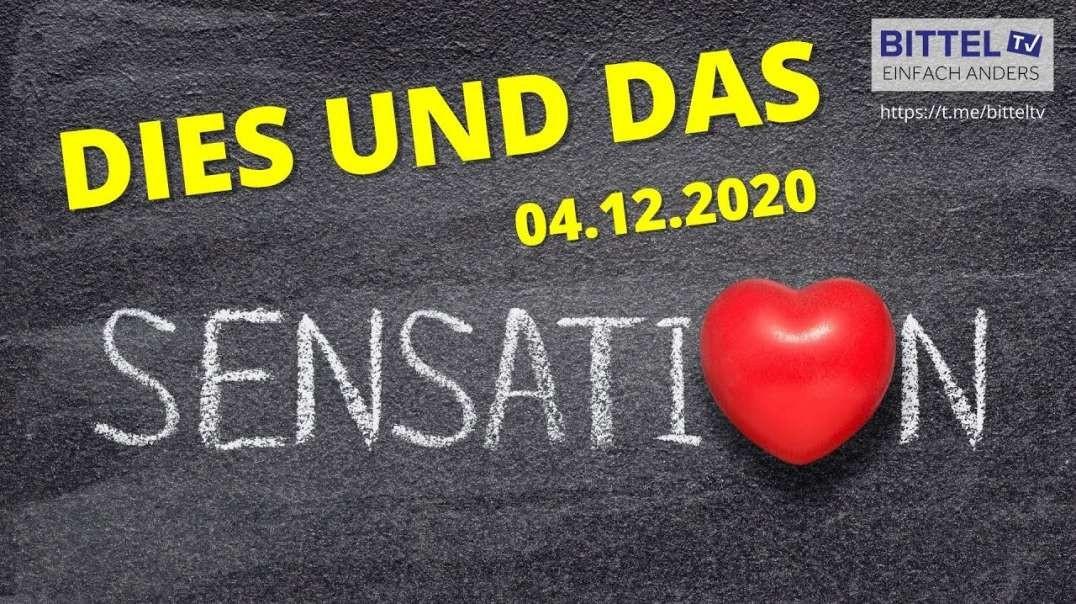LIVE - Dies und Das - 4.12.2020 - Sensation in Italien und vieles mehr