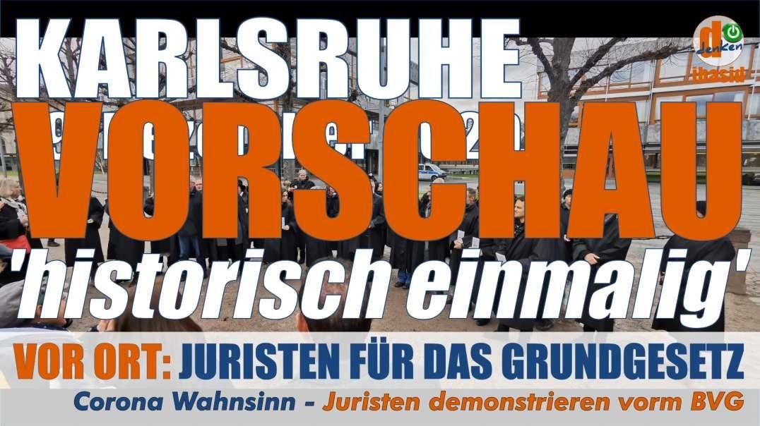 VOR ORT: Trailer/Vorschau - Reden, die es in sich haben - 19.12.2020 Karlsruhe: historisch einmalig