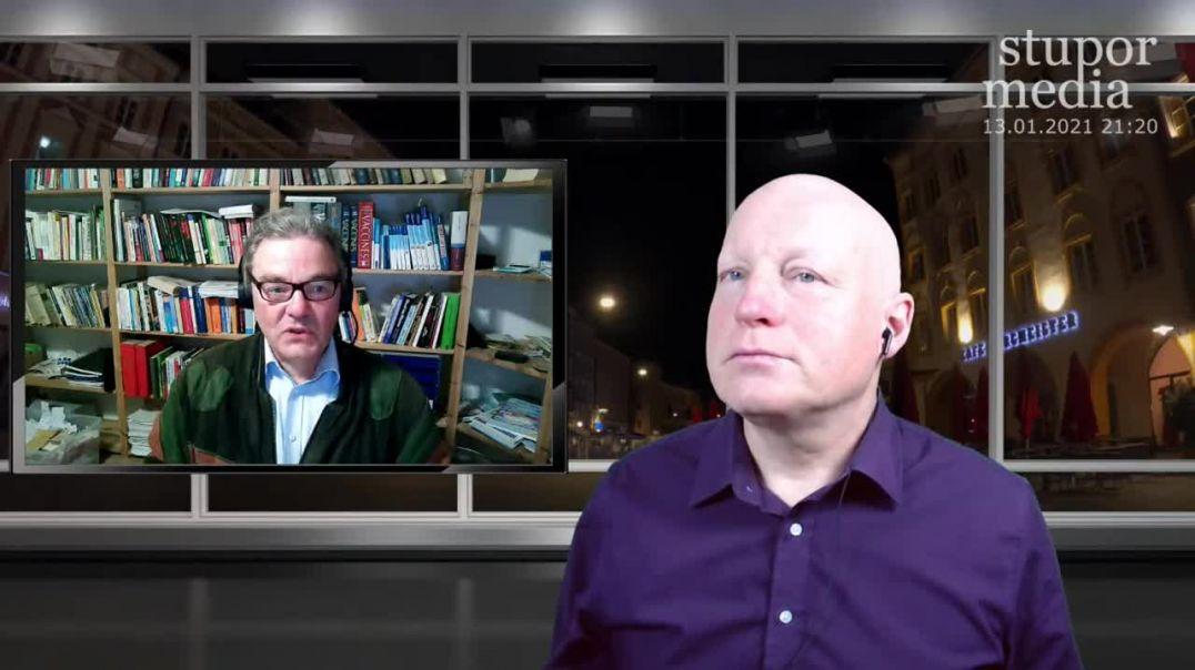 """Live-Interview mit Hans Tolzin bei Stefan Bauer: """"Werden wir jetzt totgespritzt?"""""""