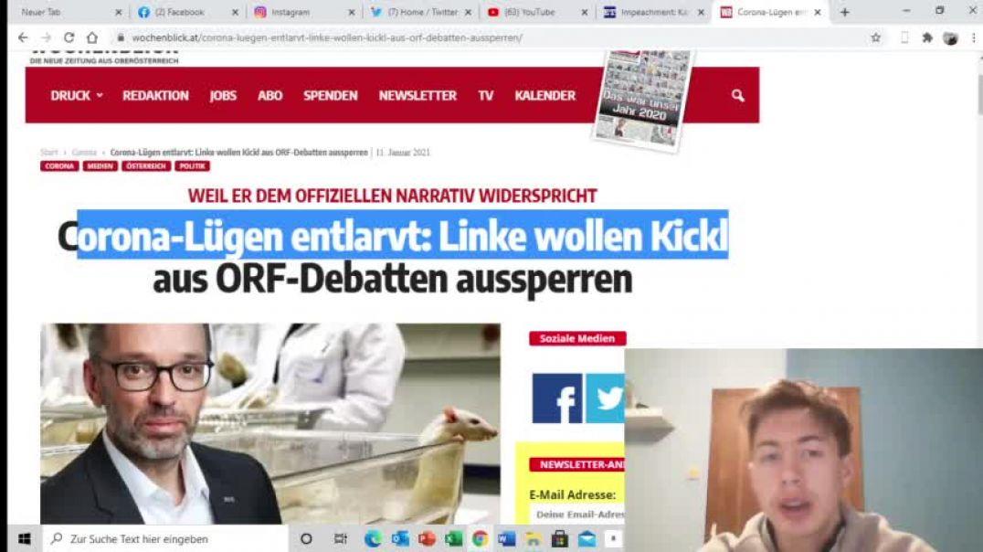 Linke wollen Kickl aus den ORF DEBATTEN sperren unglaublich ?
