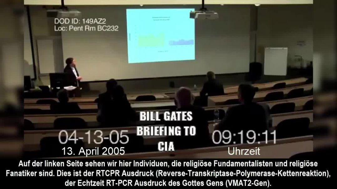 Bill Gates unterrichtet die CIA 13.04.2005
