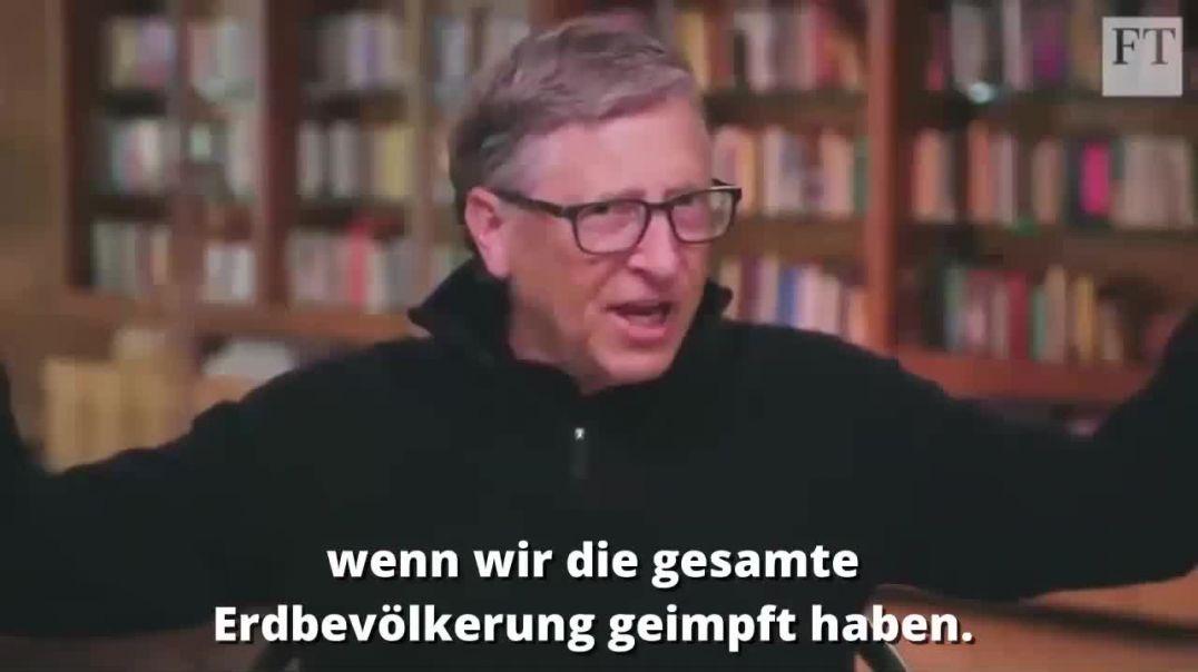 Bill Gates eines der größten WHO Investoren