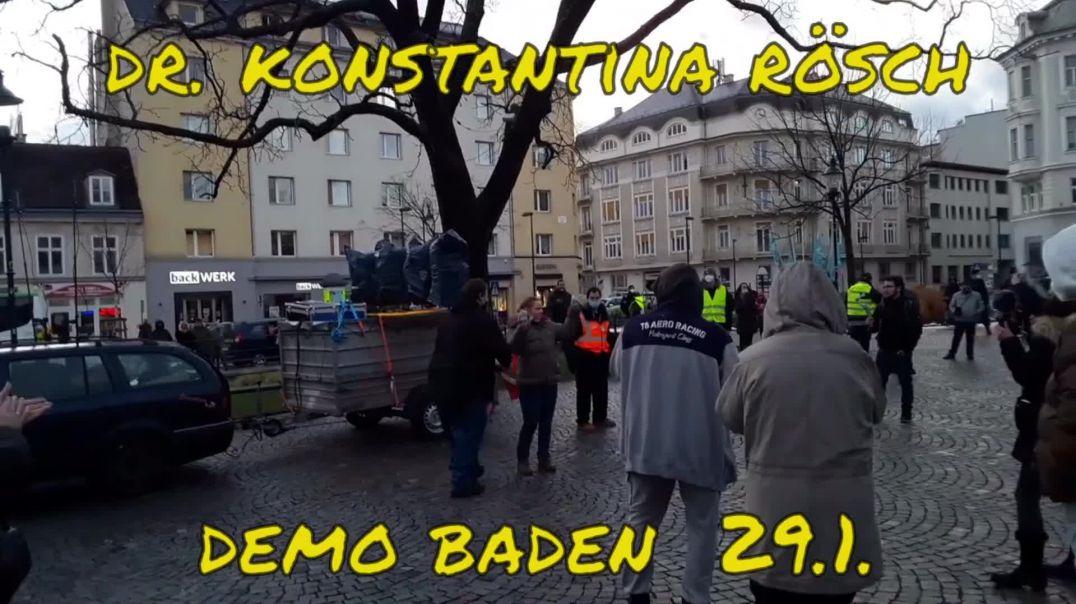 Dr. Konstantina  RÖSCH am 29. Jänner 2021 in Baden (NÖ)
